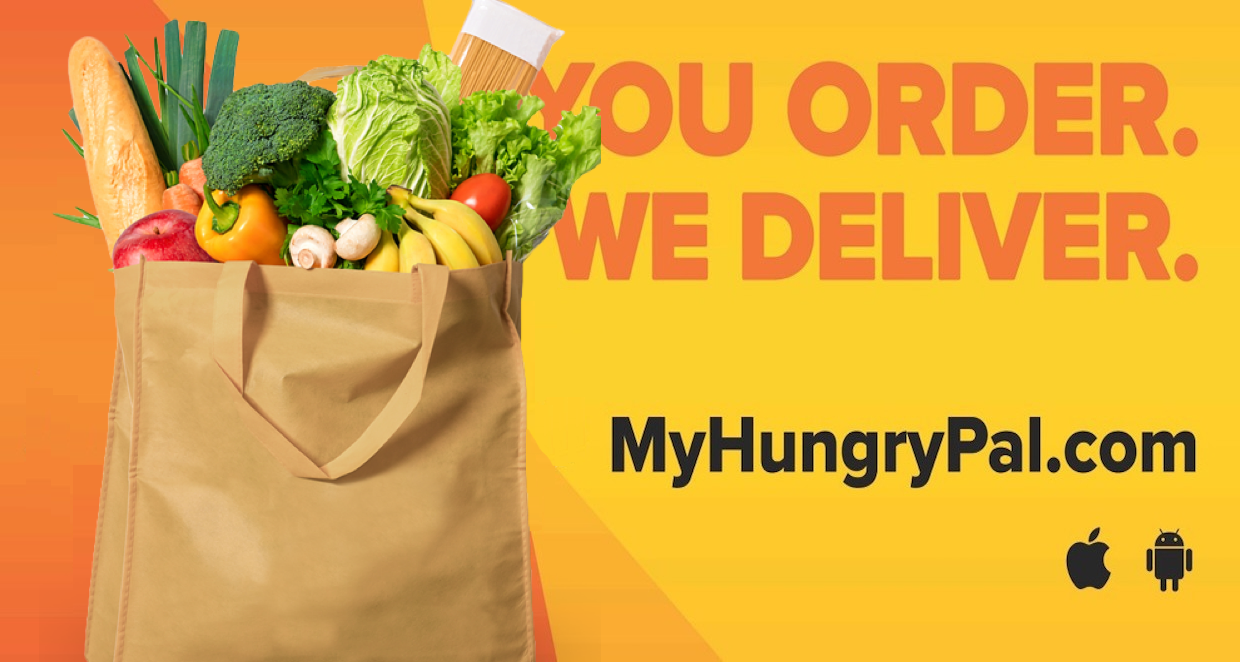 grocery delivery banner